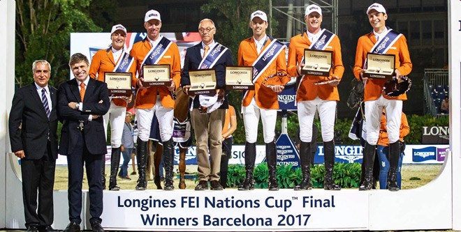 Nationenpreisfinale in Barcelona