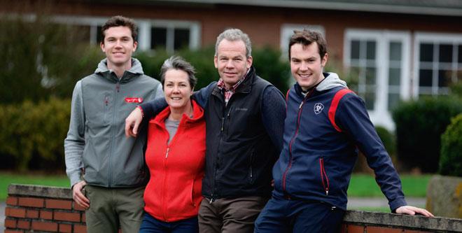 Porträt Familie Nieberg