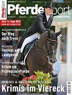 PferdeSport International Ausgabe 11/2018
