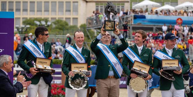 Irische Freudensprünge beim Nationenpreis-Finale