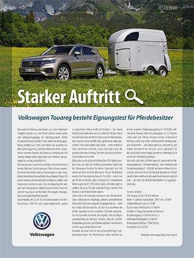Promo: VW Touareg