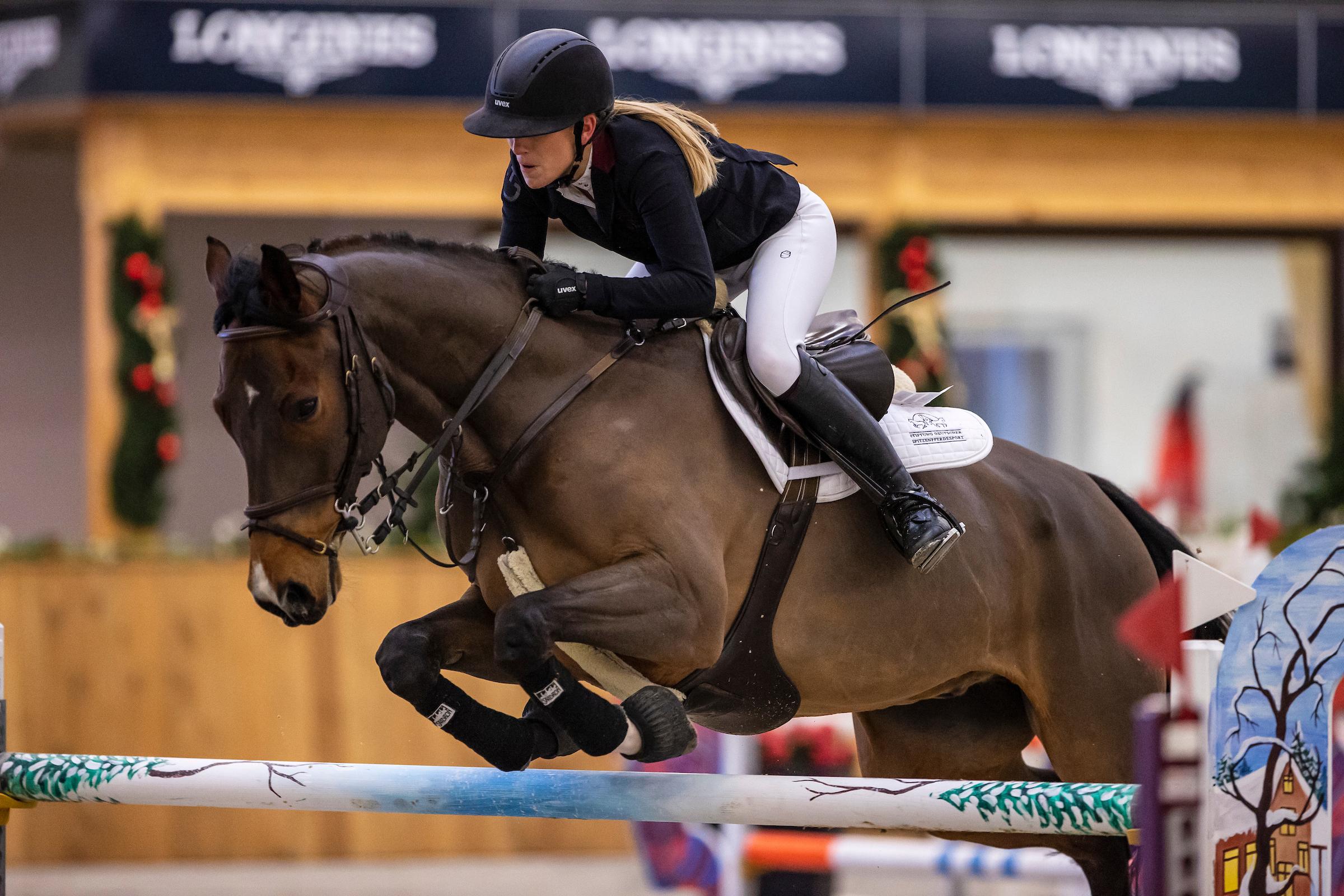 Riesenbeck: Finja Bormann auch U25-Champion