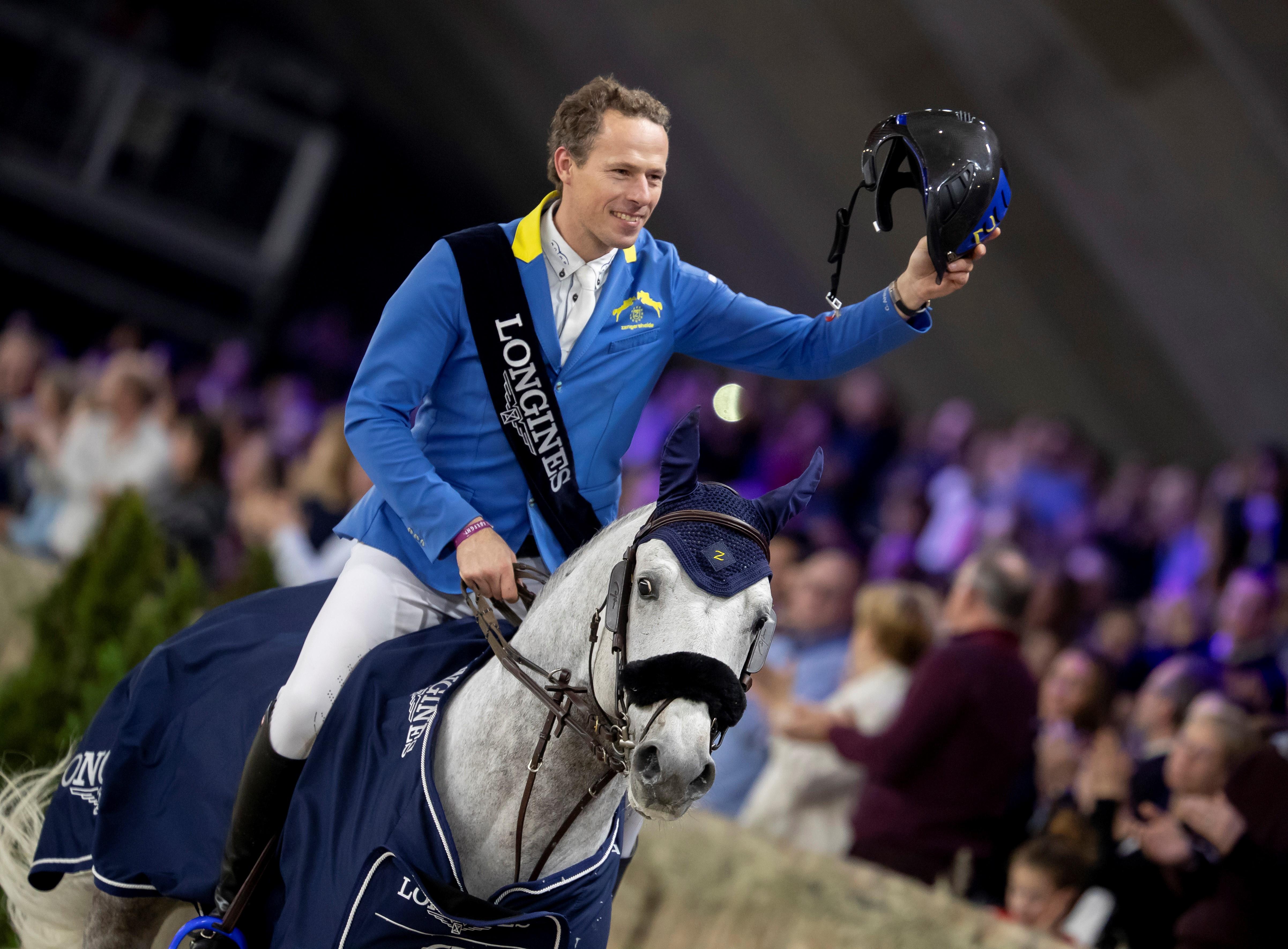 Mechelen: Christian Ahlmann gewinnt Weltcup
