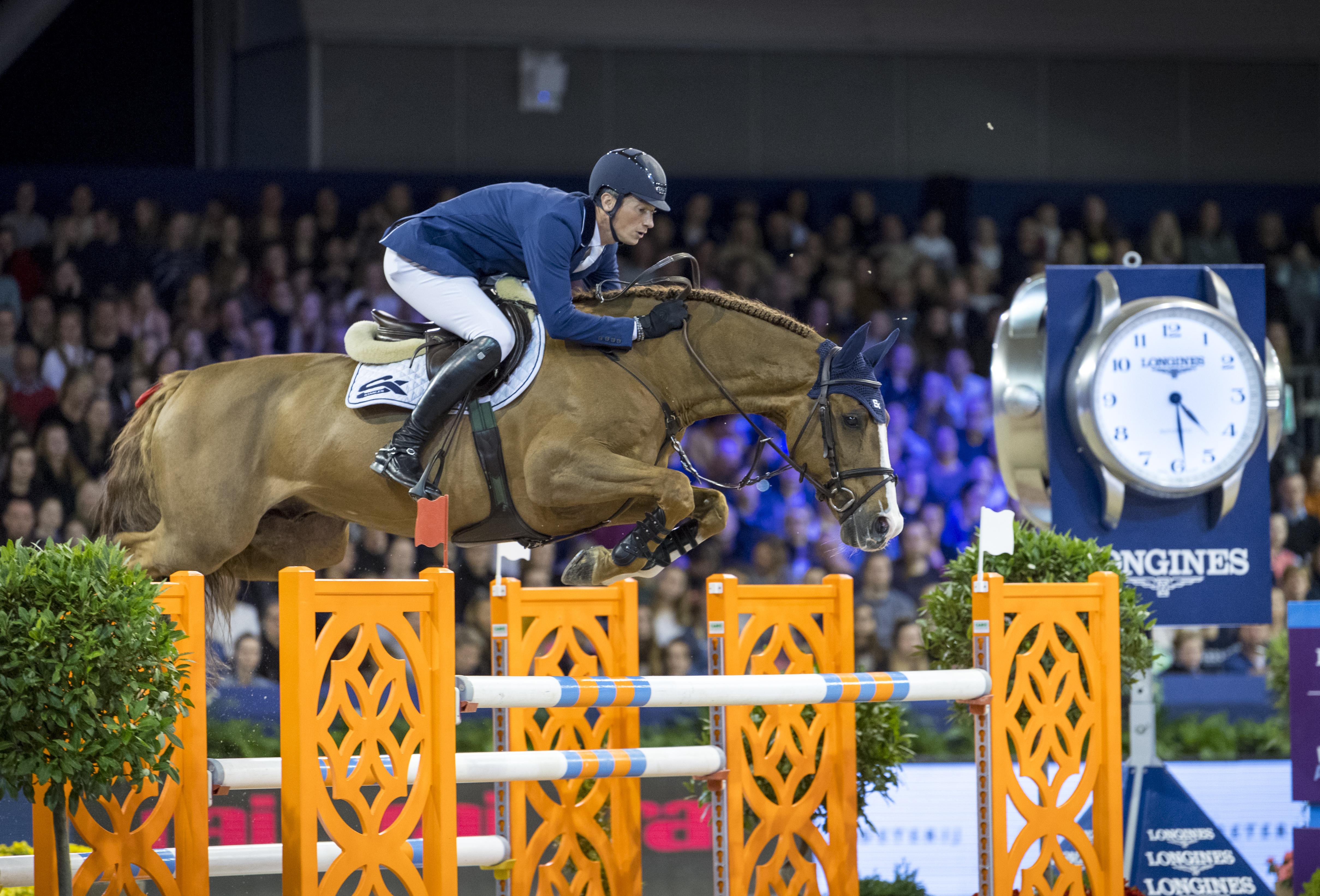 Amsterdam: Daniel Deußer wird Dritter im Weltcup-Springen