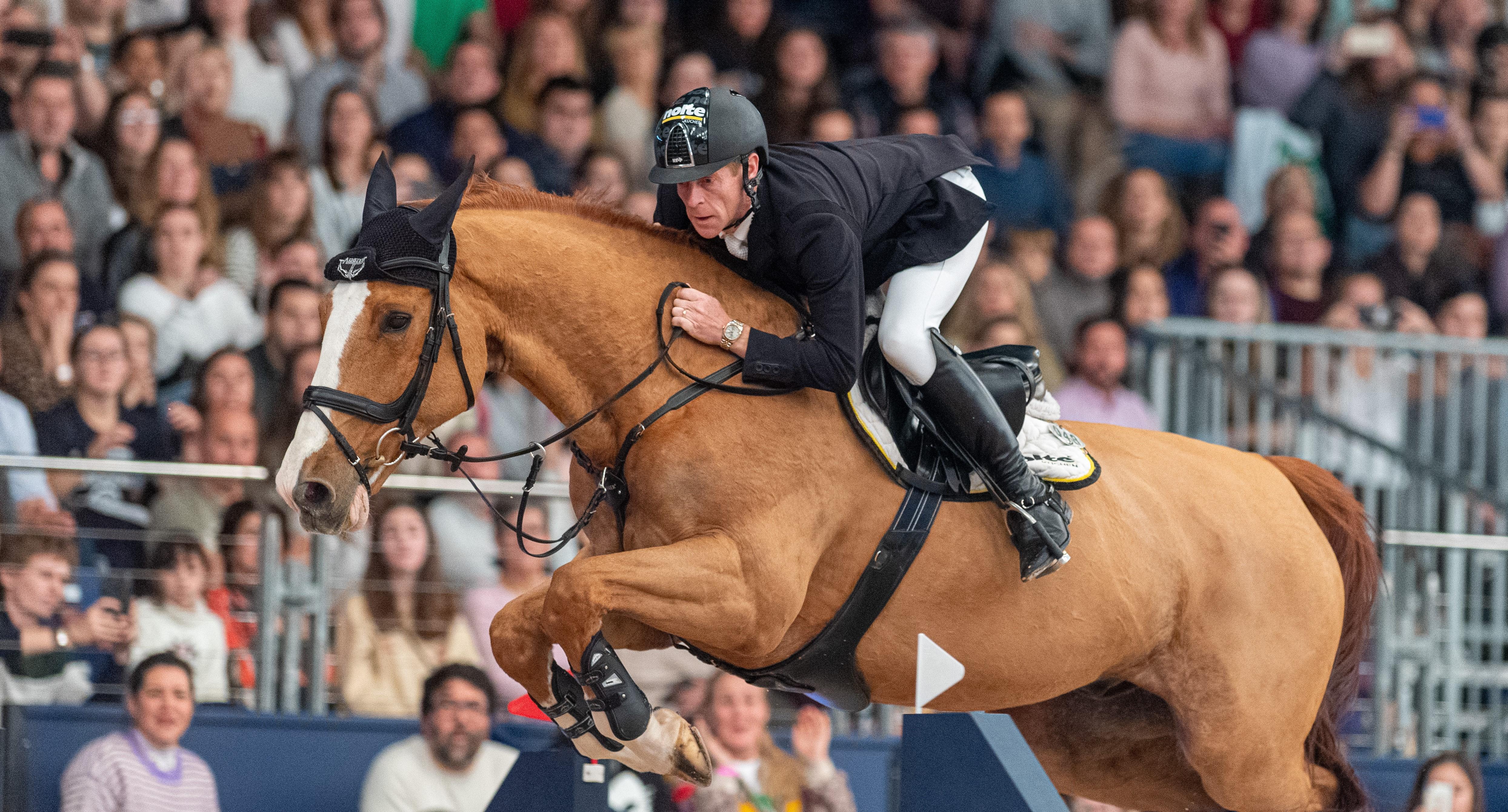 Madrid: Marcus Ehning Sieger im Weltcup