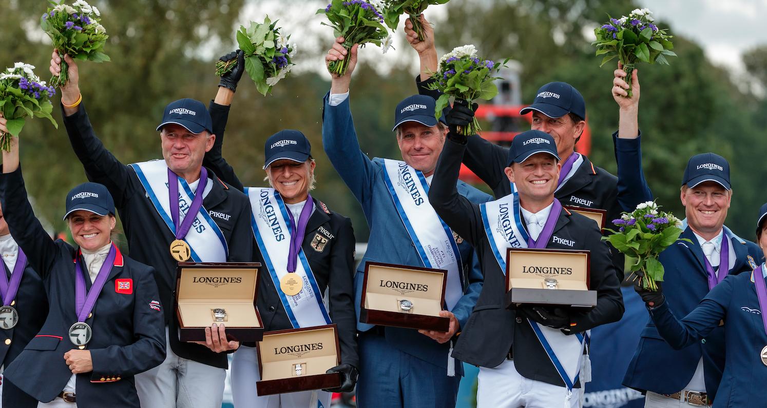 EM Luhmühlen:  Gold fürs deutsche Team, Klimke verteidigt Titel