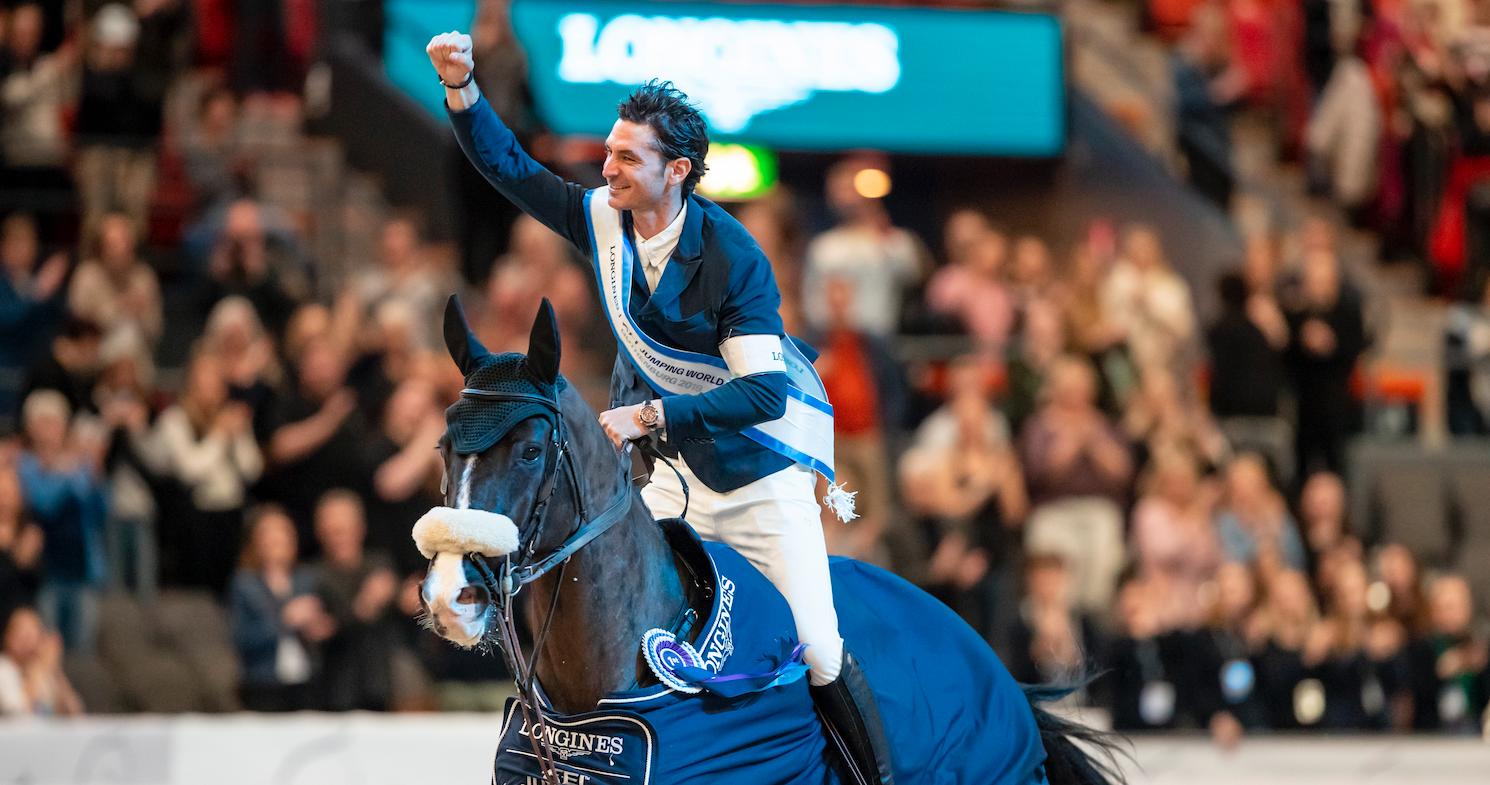 Göteborg: Steve Guerdat gewinnt zum dritten Mal Weltcup-Finale