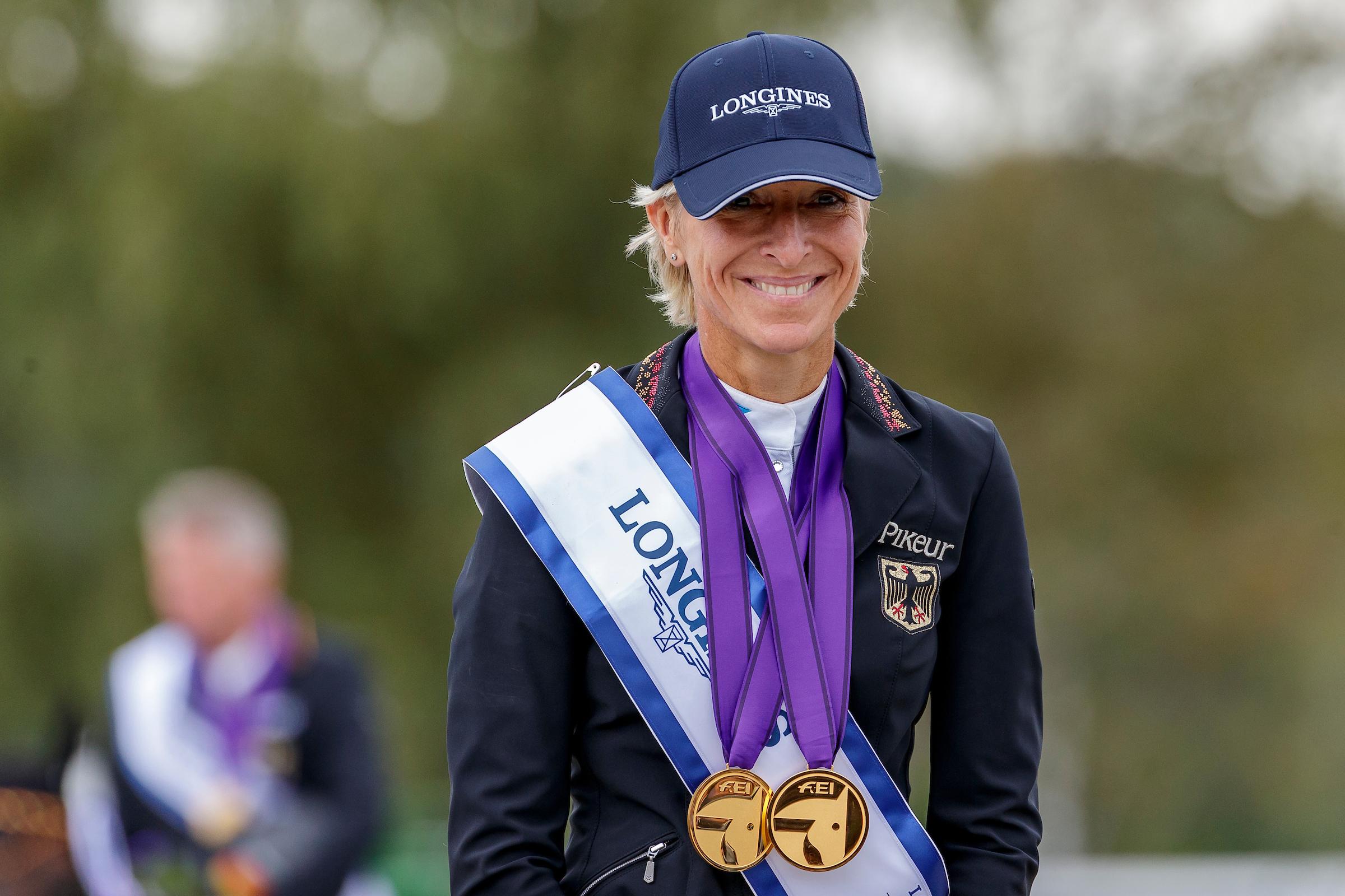 Ingrid Klimke: Zwangspause nach Sturz im Training