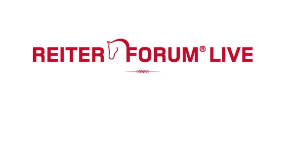 Reiter Forum Live am 11. Juni um 20.30 Uhr
