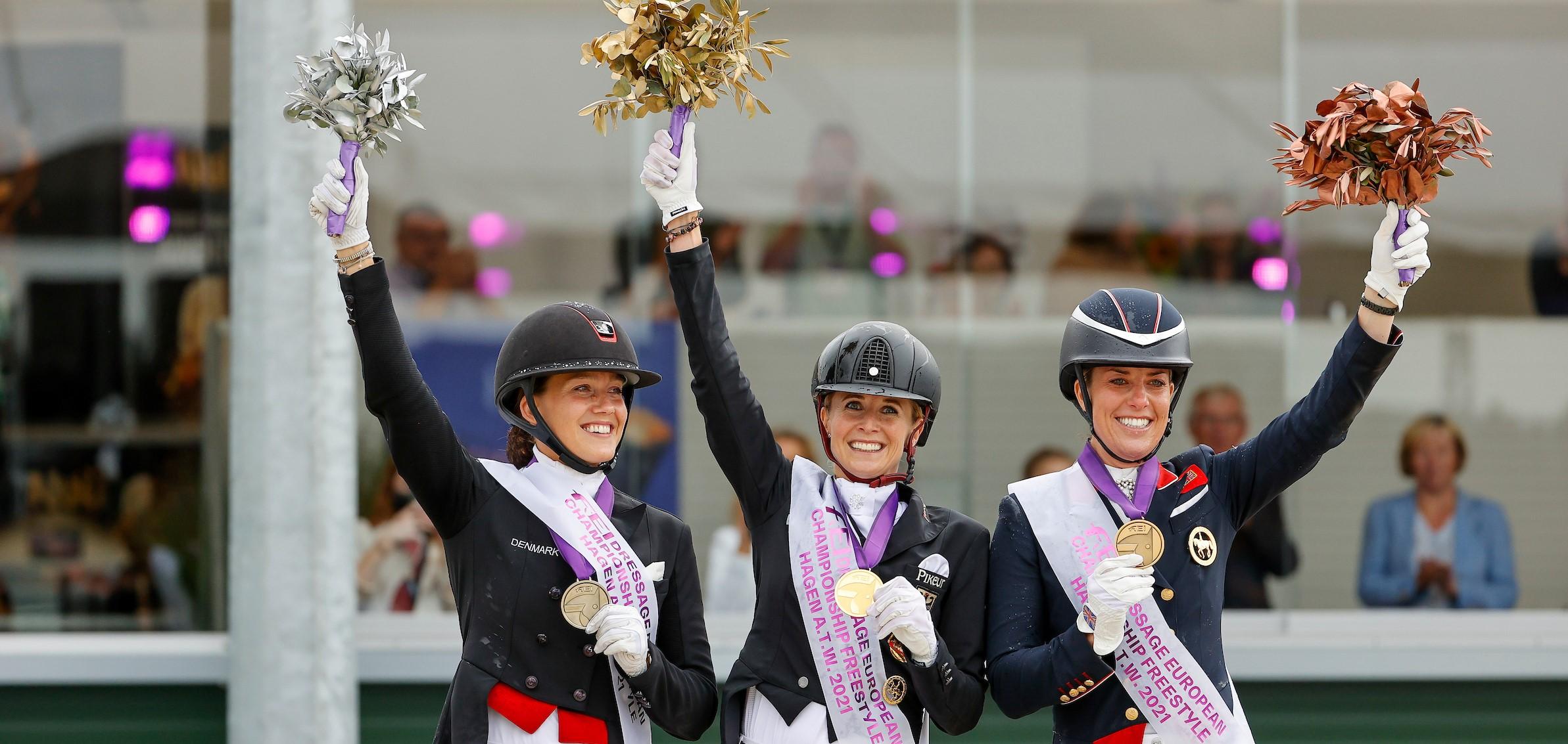Hagen: Dritte Goldmedaille für Jessica von Bredow-Werndl