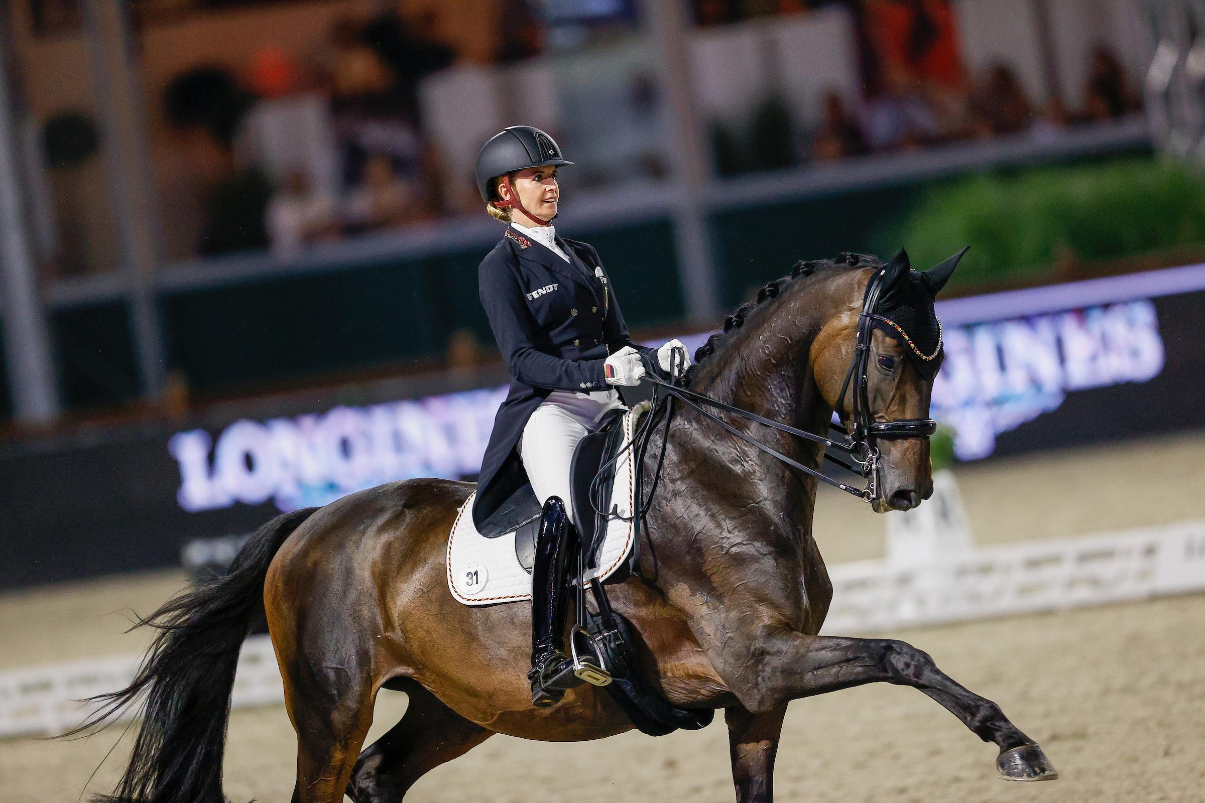 Hagen: Jessica von Bredow-Werndl gewinnt Gold im Special
