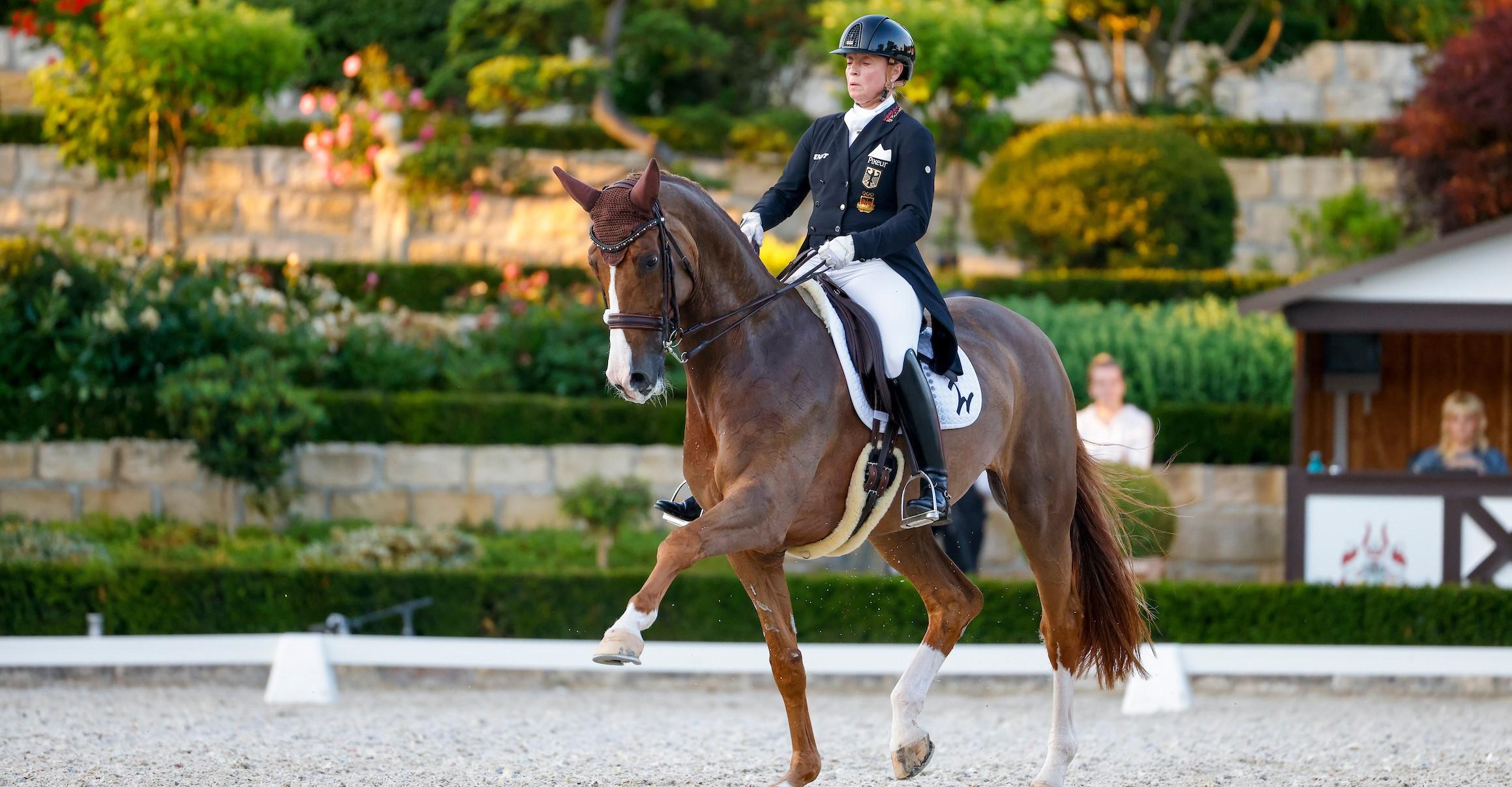 Kronberg: Vier Siege für Isabell Werth
