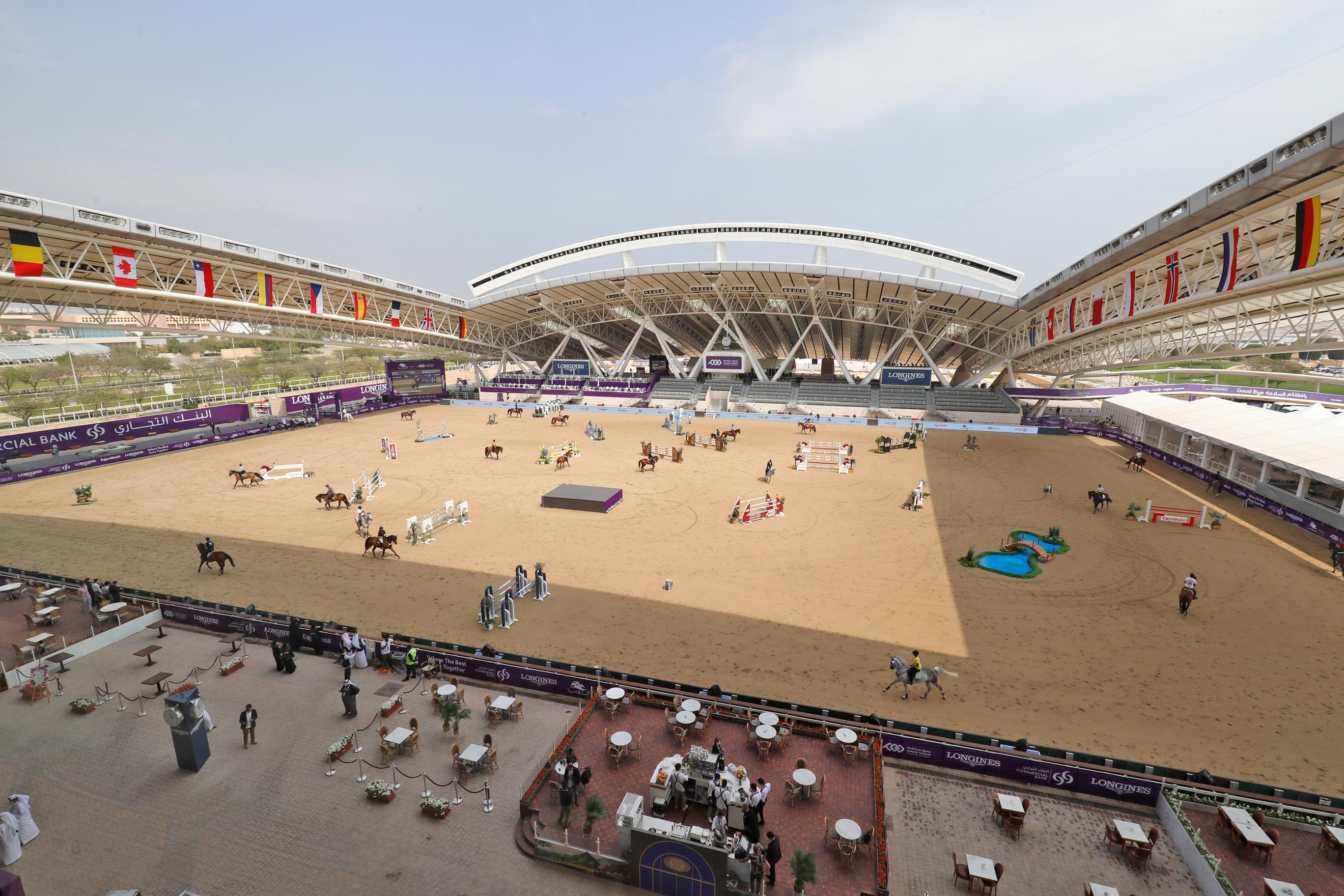 Herpes: Alle Doha-Pferde bis auf weiteres gesperrt