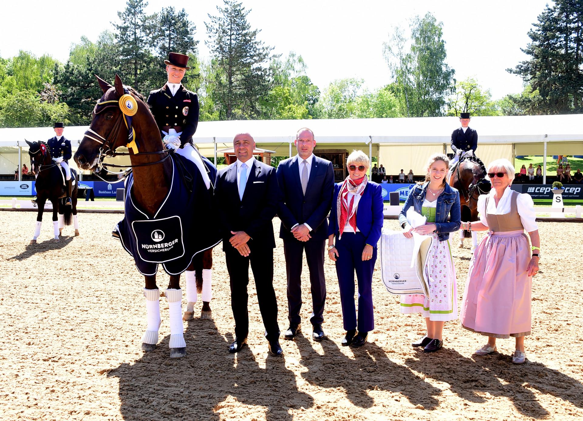 München: Strahlende Sieger bei der Pferd International