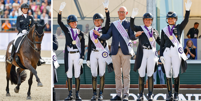 EM Dressur: Fünf Goldmedaillen in sechs Wochen